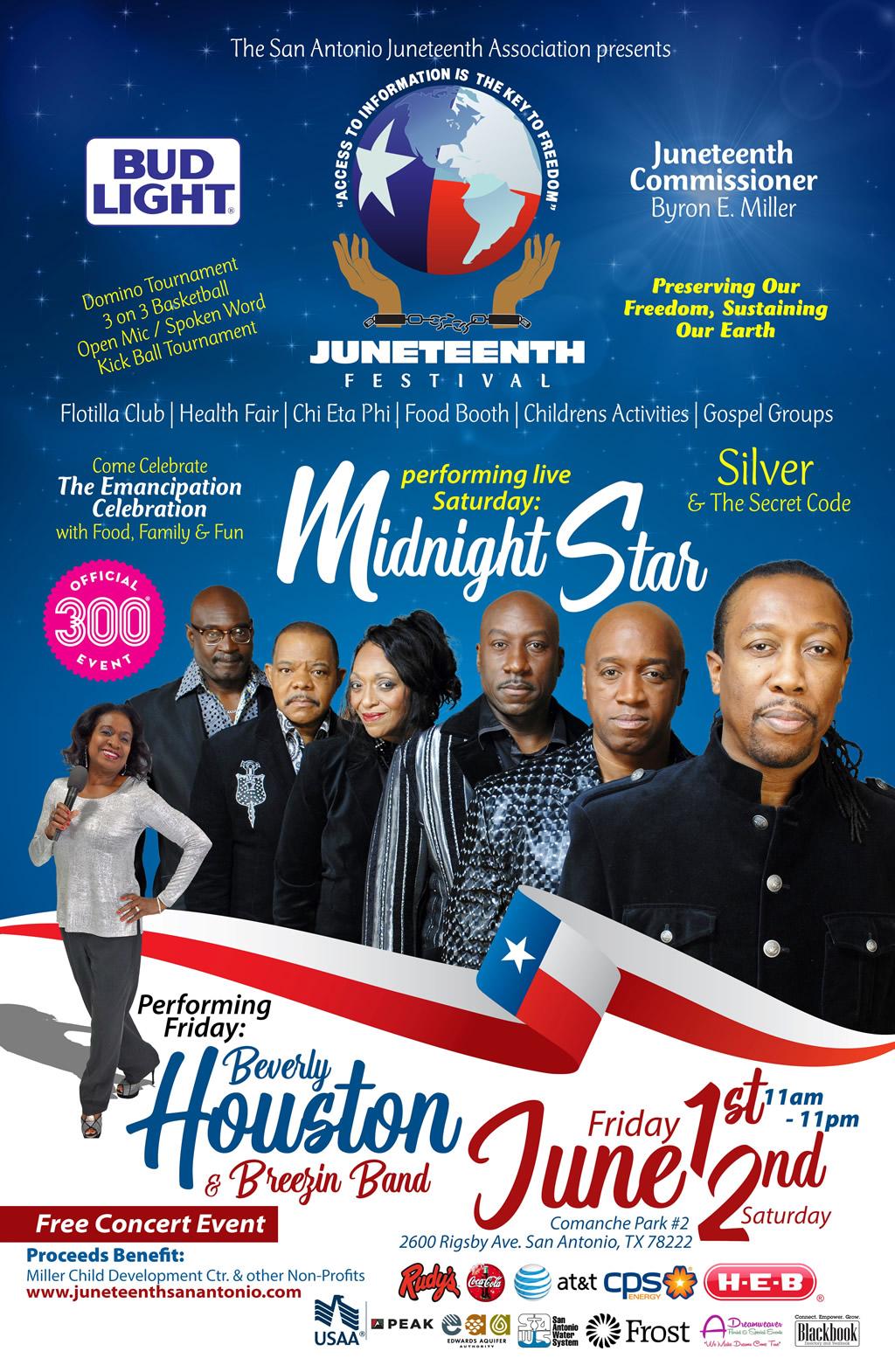 Festival 2018 Juneteenth San Antonio